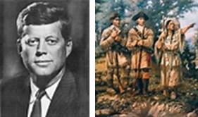 JFK, Lewis and Clark
